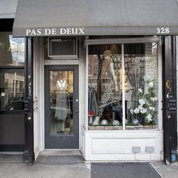 """<b>↑</b> With an elegant interior inspired by Parisian boutiques, <a href=""""http://pasdedeuxny.com/""""><b>Pas de Deux</b></a> (328 East 11th Street), is a small sanctuary of thoughtfully selected merchandise. A range of designers like 3.1 Phillip Lim, Acne,"""
