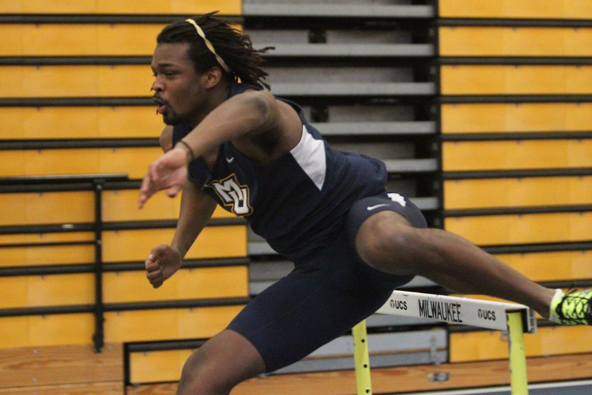 Marcell KirkmanBey was one of three Golden Eagles to bring home an individual title.