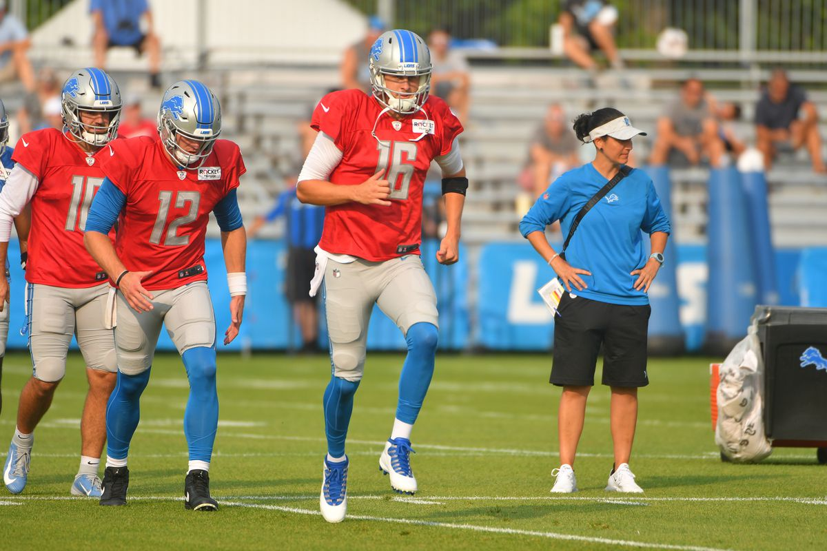 NFL: AUG 10 Detriot Lions Training Camp