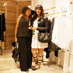 Racked LA readers Cassidy Quinn and Eloise Gonzalez.