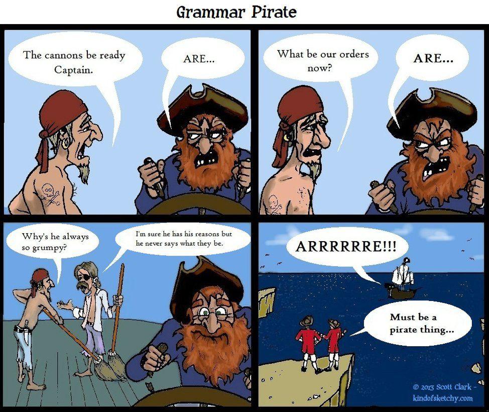 Grammar Pirate