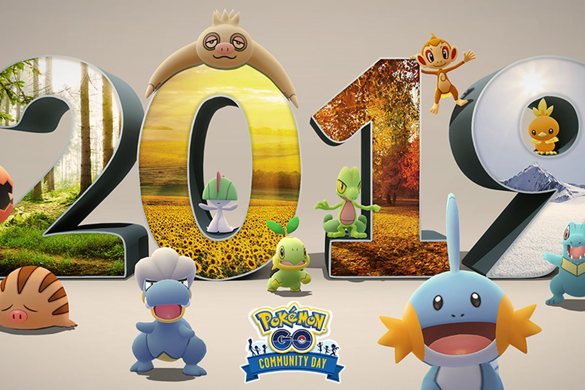 Pokémon Go celebrates the end of 2019 with a special Community Day featuring all of this year's Pokémon