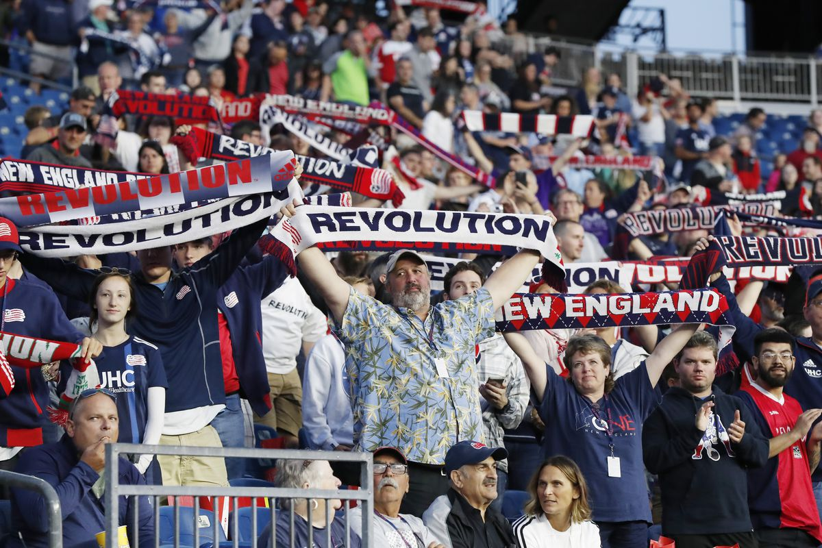SOCCER: AUG 24 MLS - Chicago Fire at New England Revolution