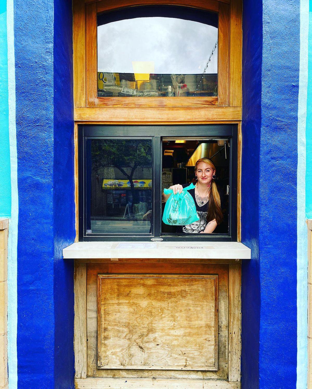 In March 2020, East Sixth ramen restaurant Daruma set up a pickup window
