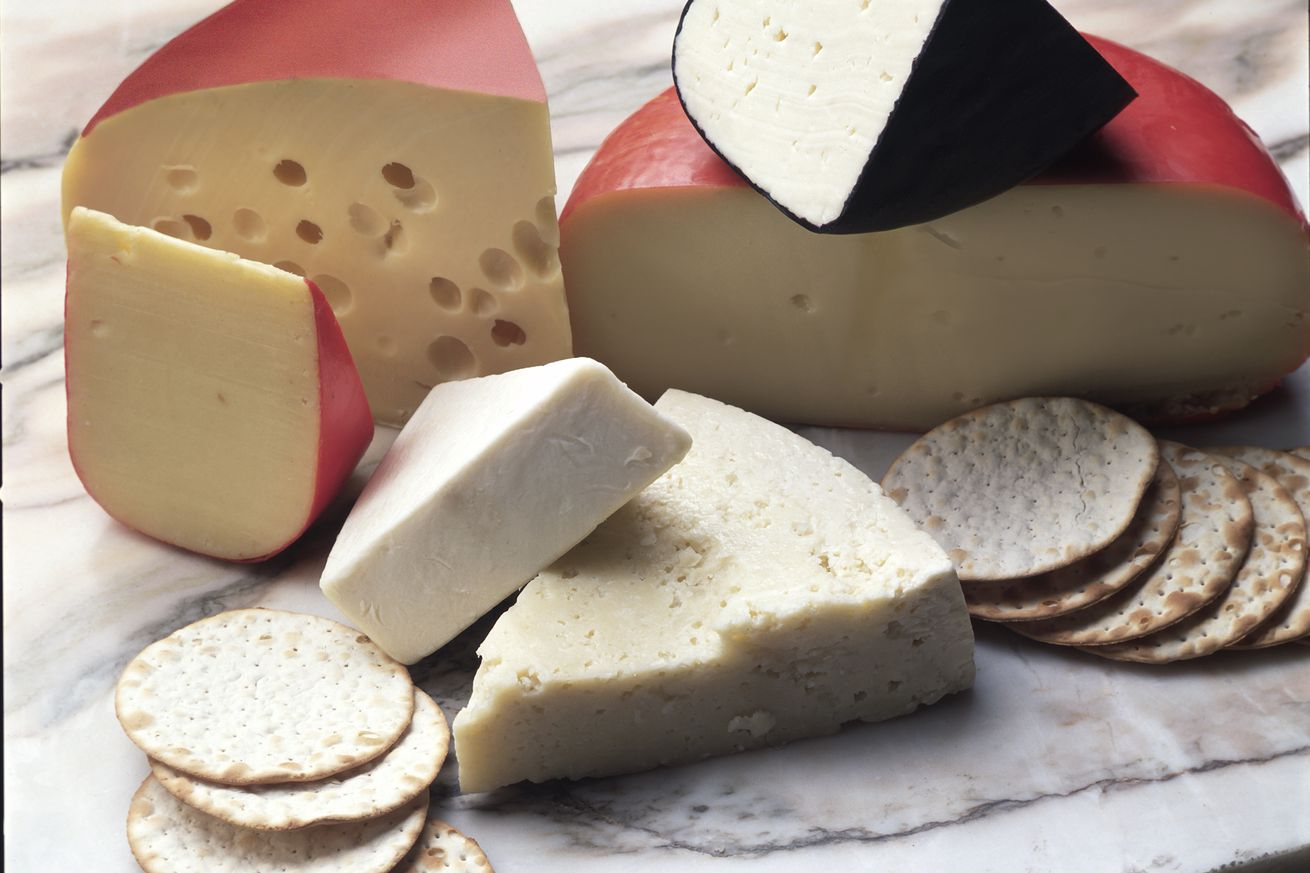 Various Cheese Slices