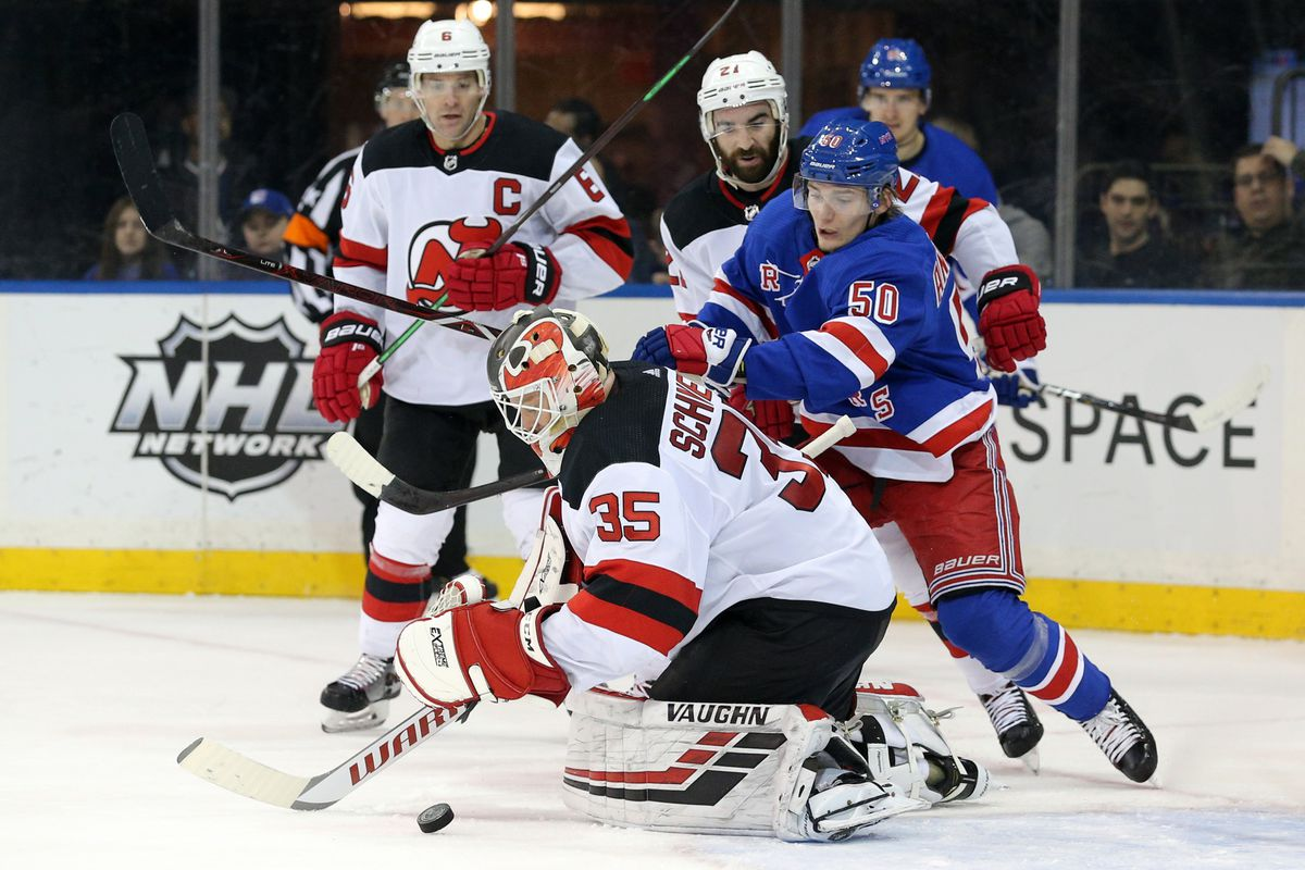 41bdaebae Rangers vs Devils  Rangers Jump On Devils Early and Win 5-2 at MSG -  Blueshirt Banter
