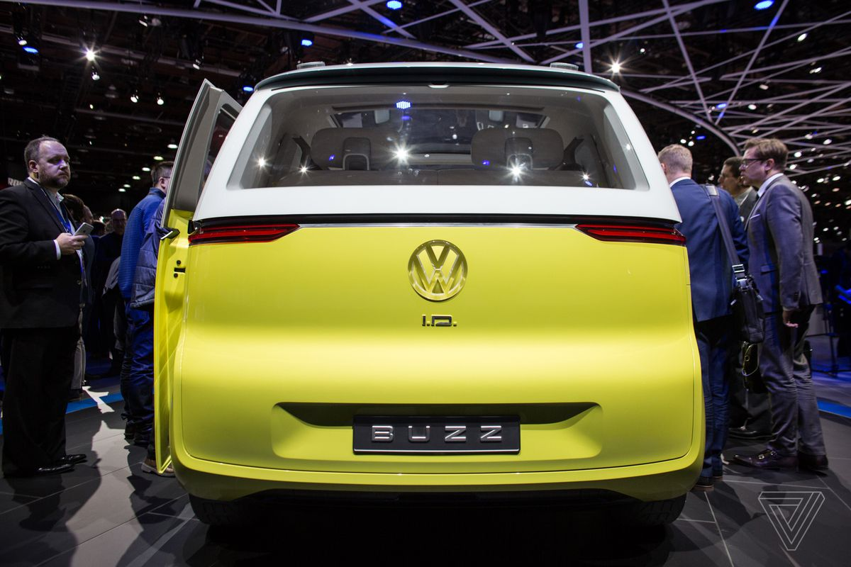 why volkswagen keeps making microbus throwbacks it never intends to sell the verge. Black Bedroom Furniture Sets. Home Design Ideas