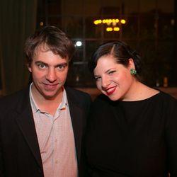 Eater founder Lockhart Steele and Jordana Rothman