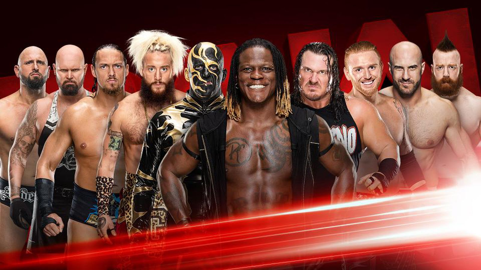 Wwe raw results live blog may 8 2017 tag team turmoil - Monday night raw images ...