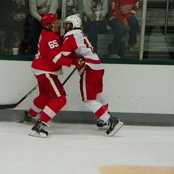 Even DeKeyser can't get enough of Patty Eaves