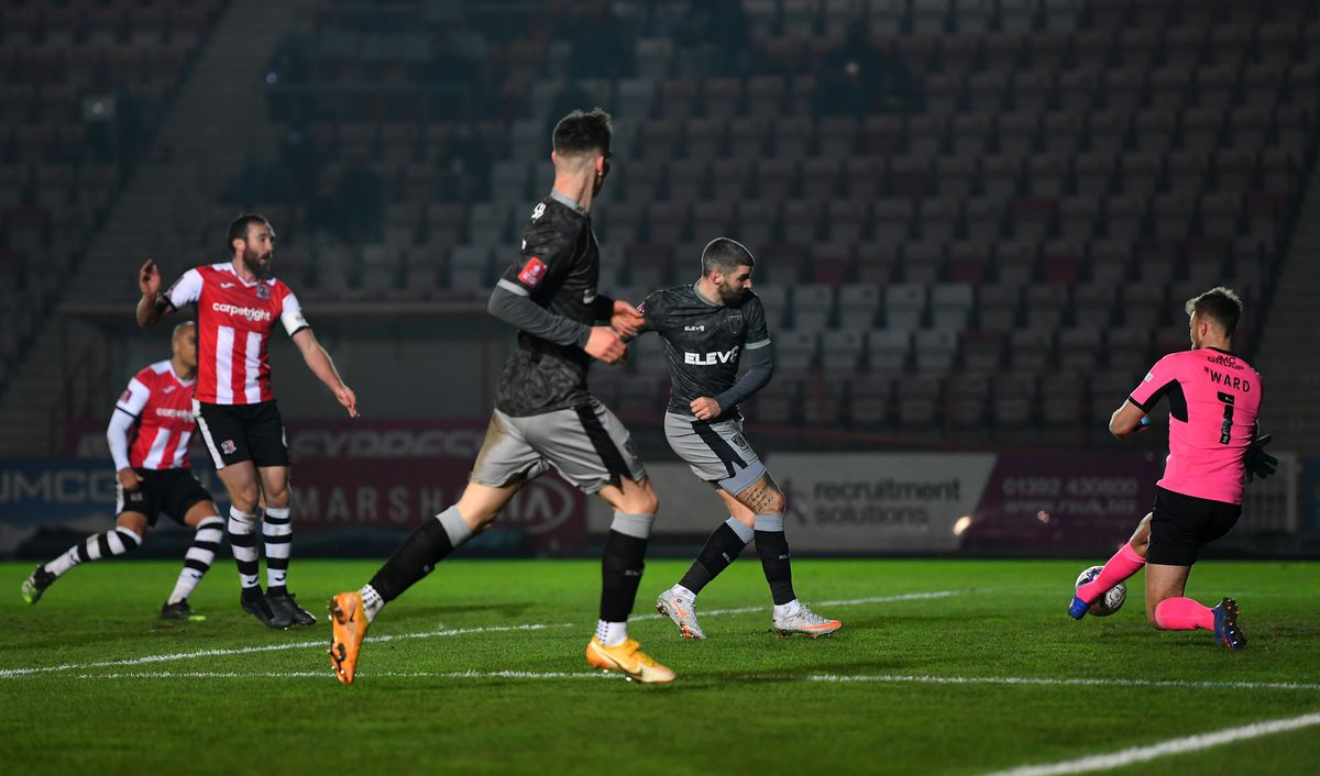 Exeter City v Sheffield Wednesday - FA Cup Third Round
