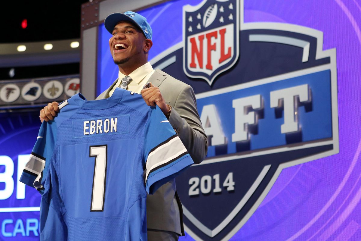 If Eric Ebron fell past Detroit, it's possible he would have held up a Ravens jersey instead on draft day.