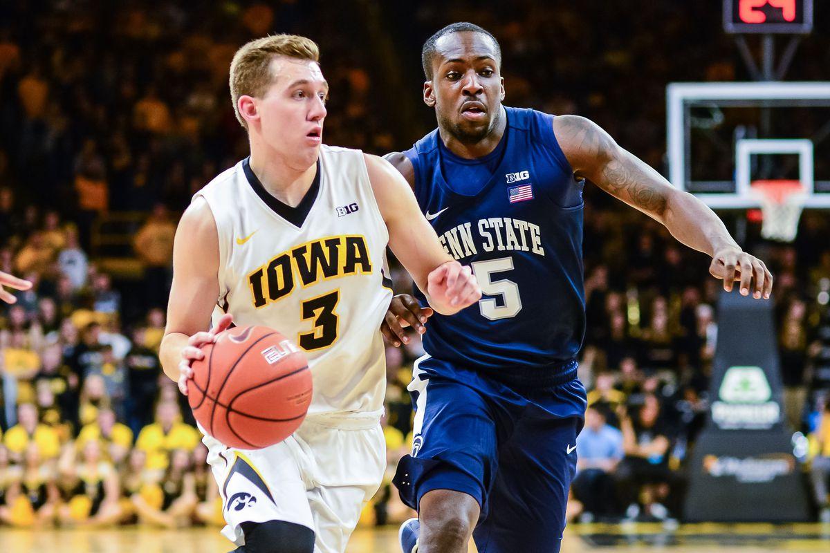 NCAA Basketball: Penn State at Iowa