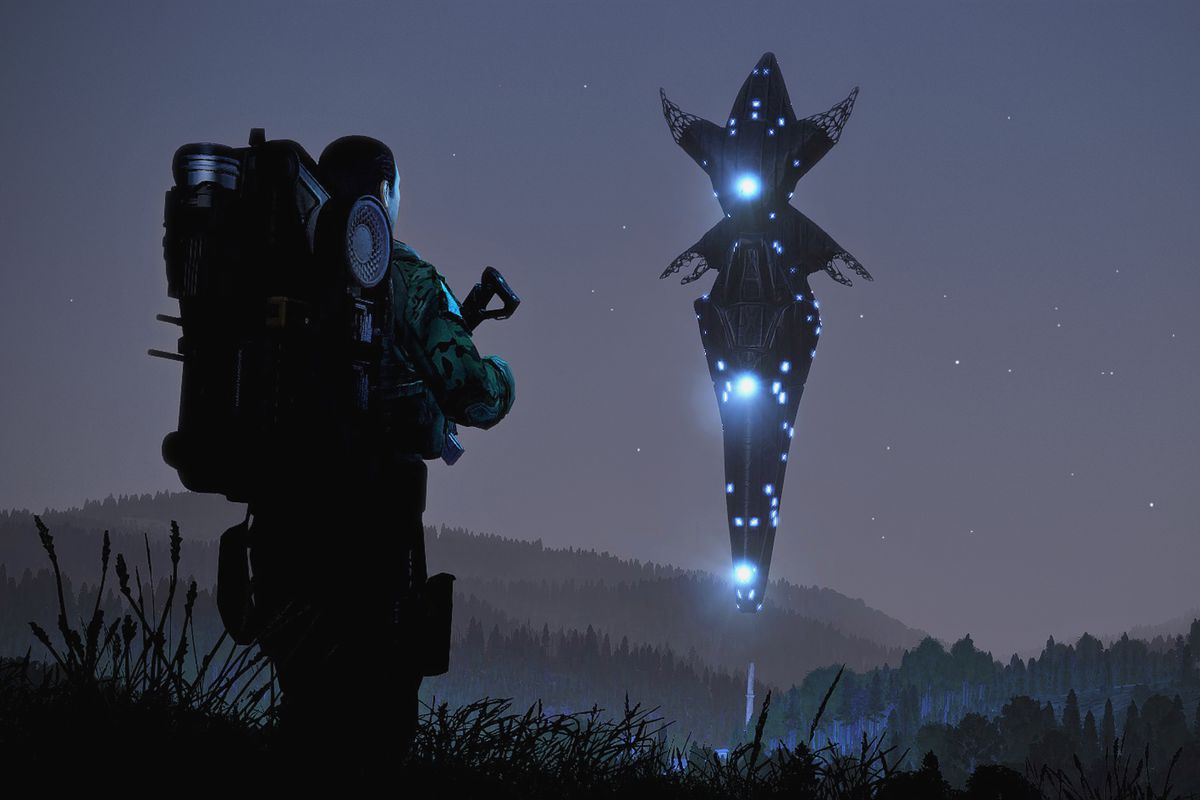 Arma 3 Contact impressions: chasing E T  through the woods