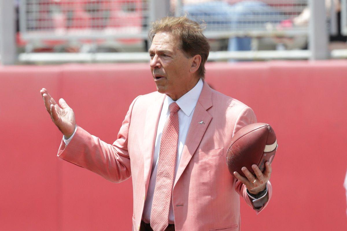 "<p zoompage-fontsize=""15"">NCAA Football: Alabama A-Day"