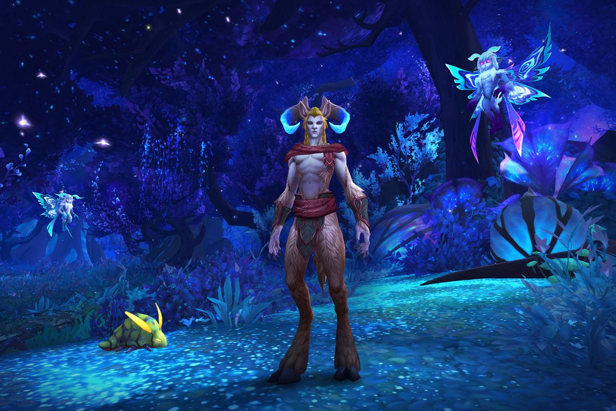 World of Warcraft Shadowlands Faun