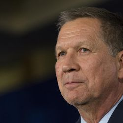 Republican presidential candidate, Ohio Gov. John Kasich speaks during a watch party at the Renaissance Columbus Downtown Hotel, Tuesday, March 8, 2016, in Columbus, Ohio. (AP Photo/John Minchillo)