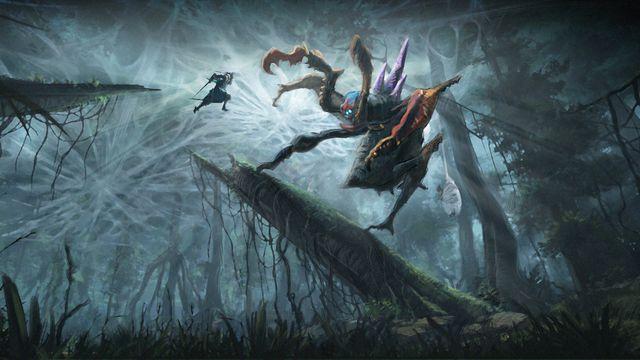 <em>Monster Hunter: Legends of the Guild</em> concept art