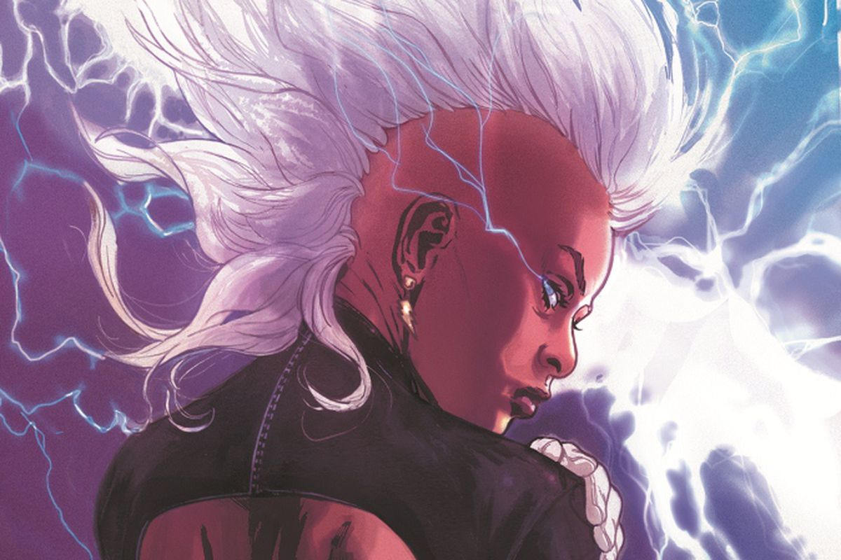 An image of the X-Men known as Storm