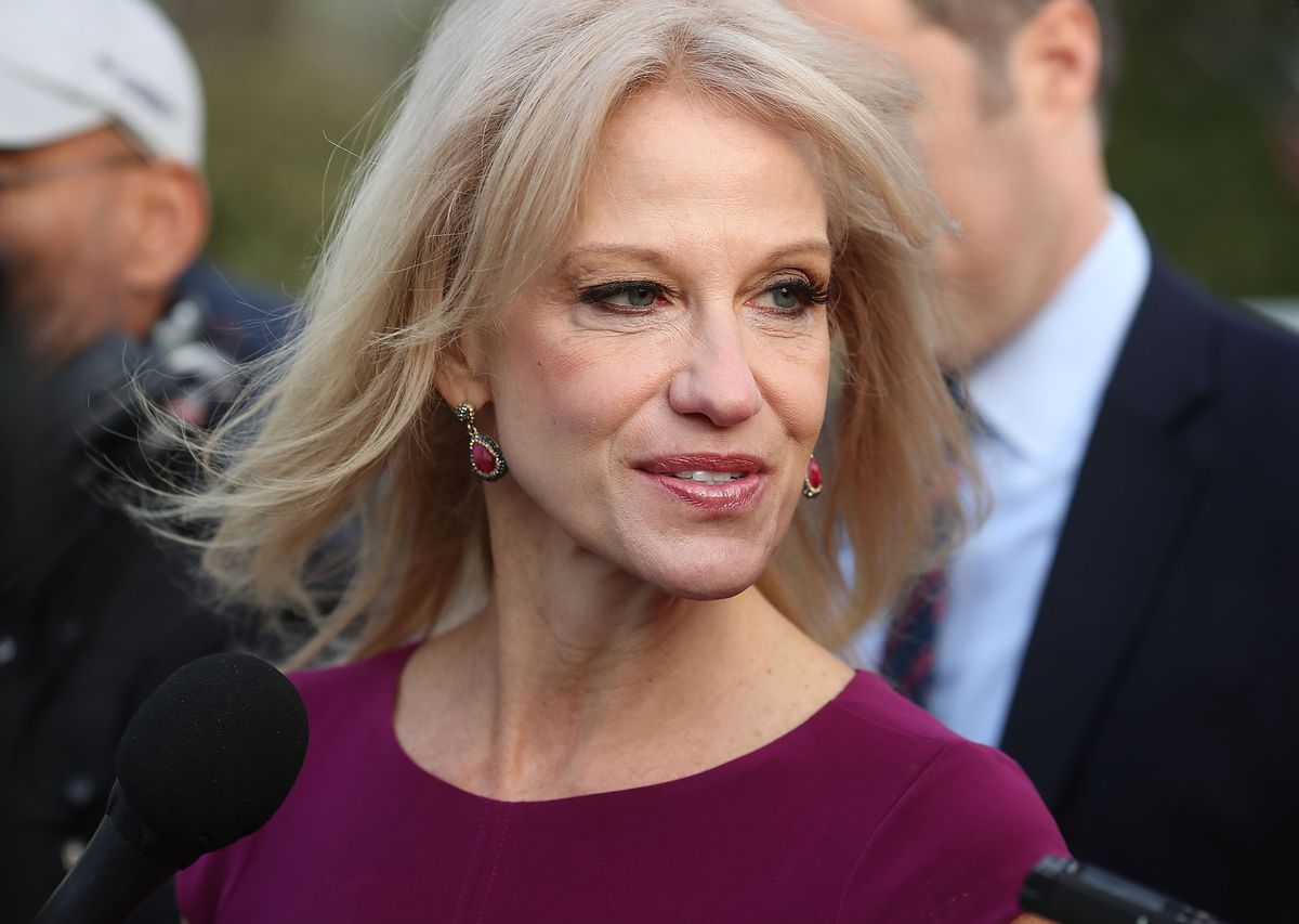 """Kellyanne Conway calls Republicans who stuck by Trump the """"October 8 coalition."""""""
