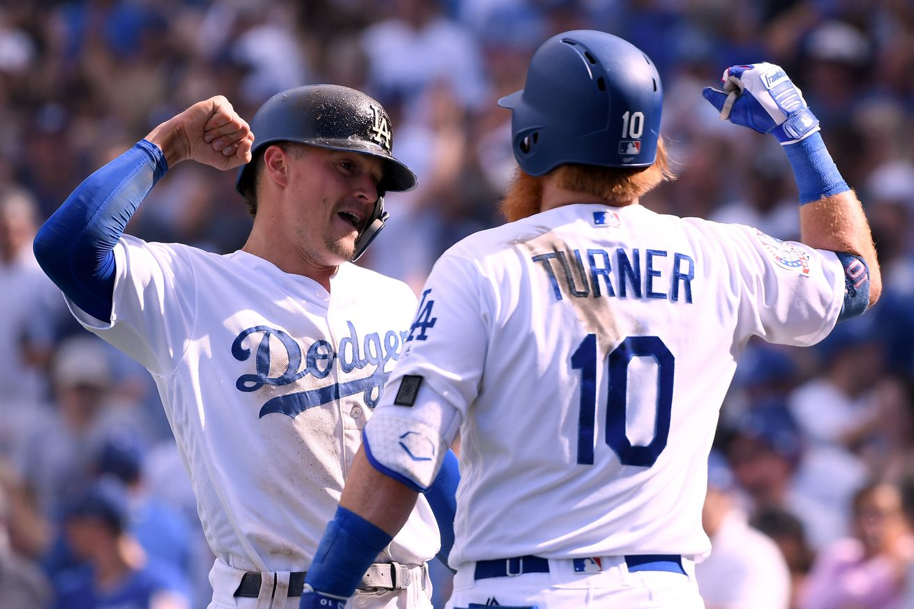 The Dodgers have already clinched the NL West