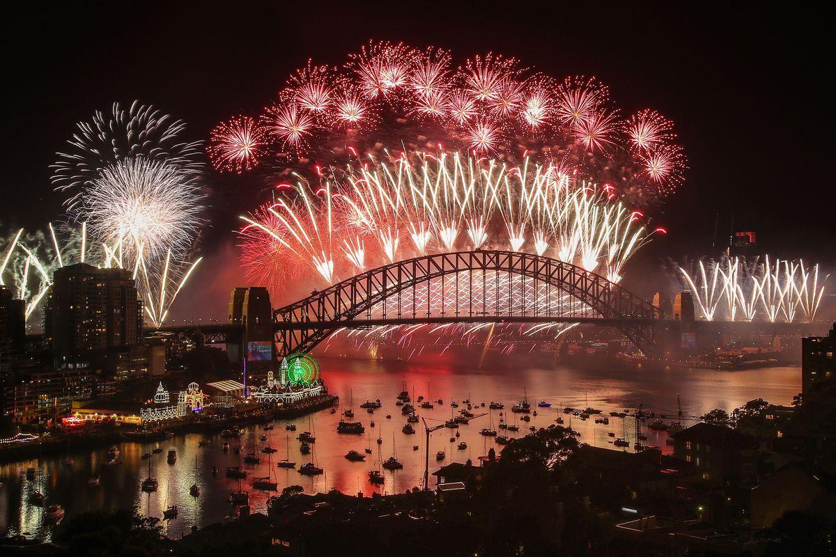 Sydney Celebrates New Year's Eve 2018