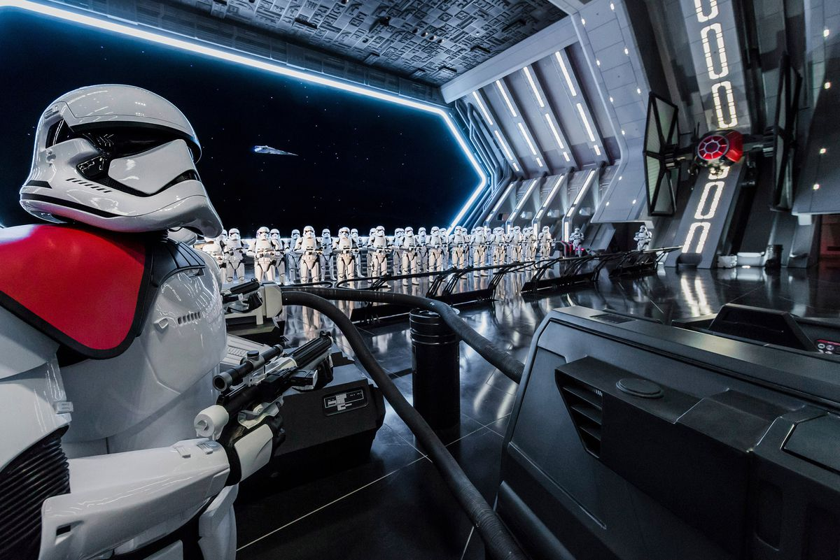 Disney guests will traverse the corridors of a Star Destroyer and join an epic battle between the First Order and the Resistance – including a face-off with Kylo Ren – when Star Wars: Rise of the Resistance opens Dec. 5, 2019 at Walt Disney World Resort.