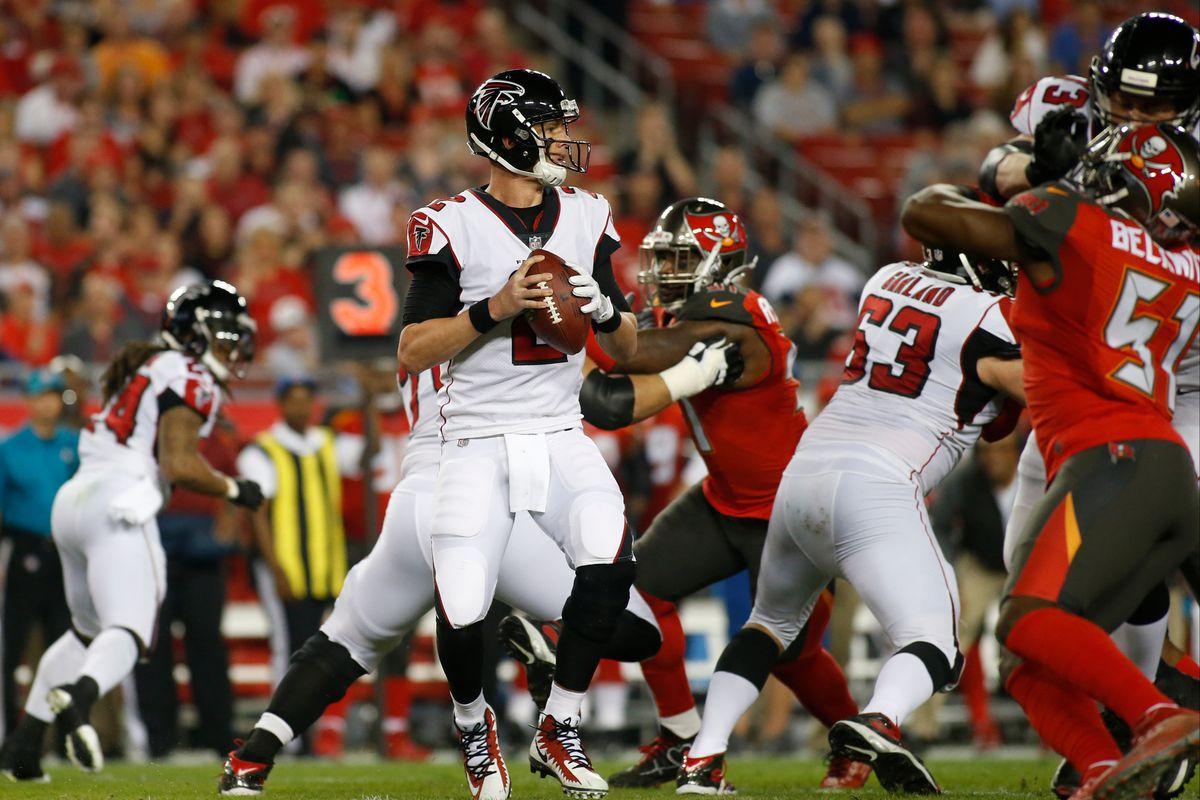 d257983b Falcons vs. Buccaneers recap: An uneven effort, a missed field goal ...