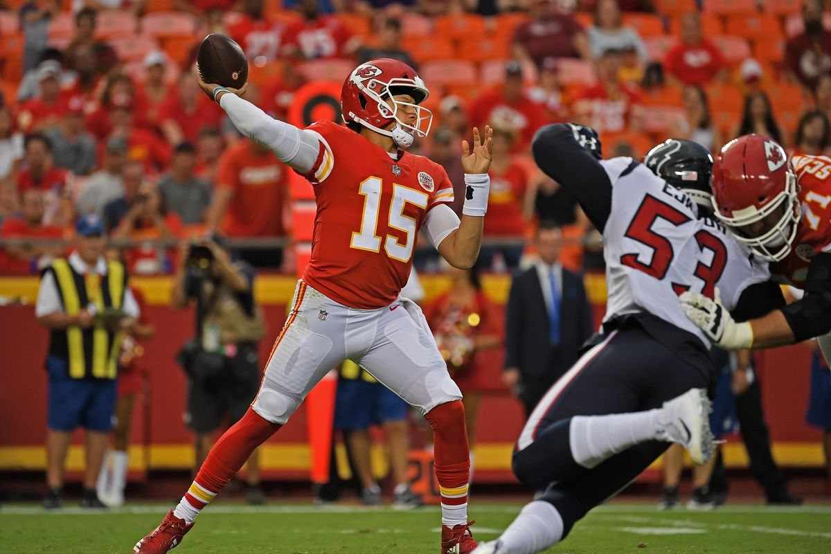 Chiefs' already  Mahomes developing Patrick Evidence as is