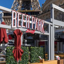 The Beer Park entrance