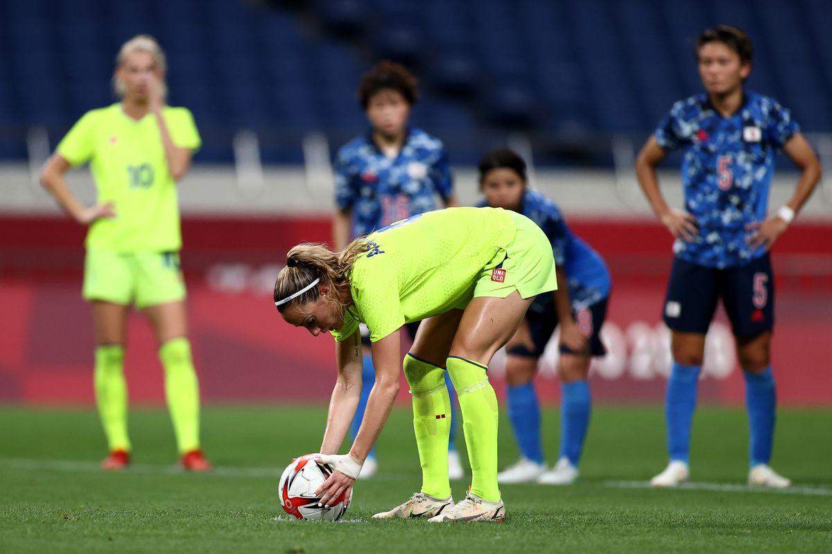 Sweden v Japan: Women's Football Quarterfinal - Olympics: Day 7