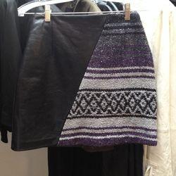 Veda x Pamela Love miniskirt, $125