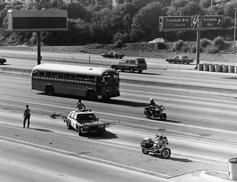 Olympic bus, 1984