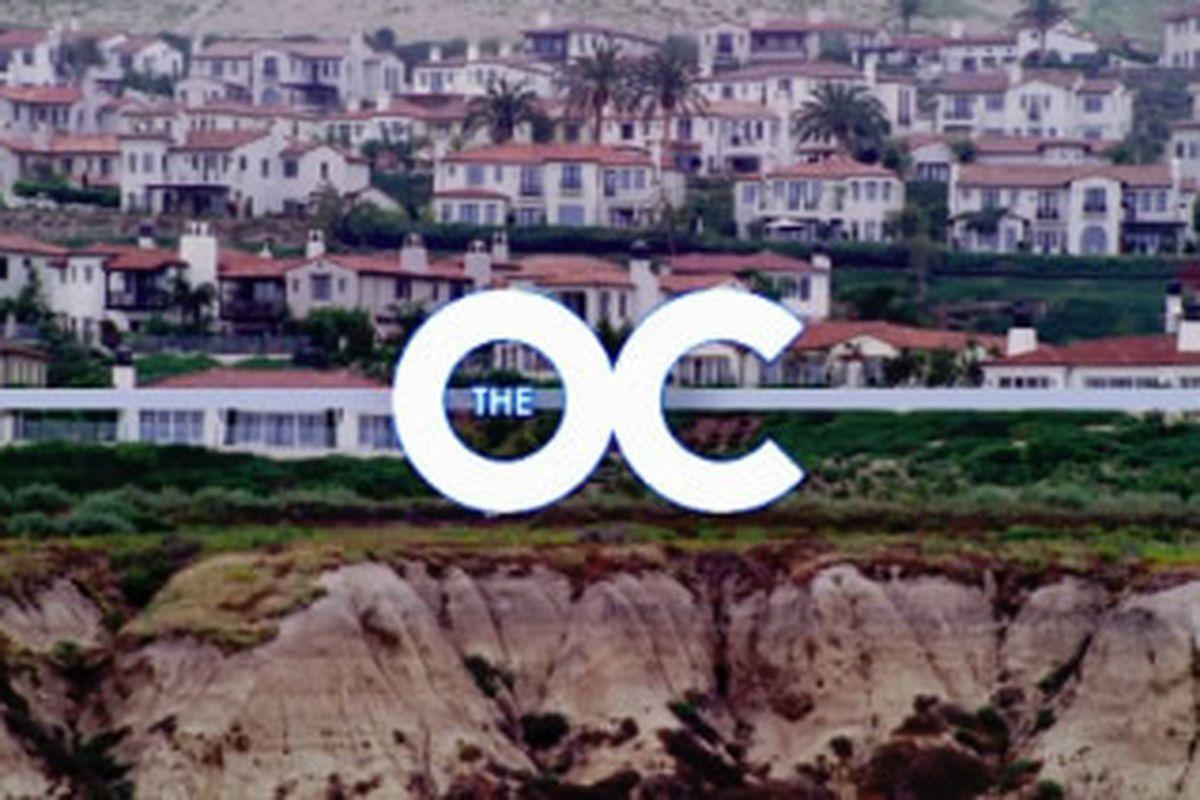 The OC Main Title logo