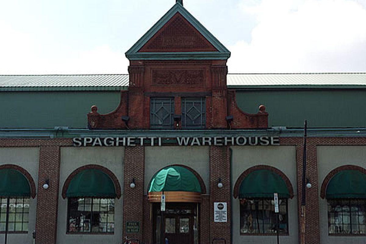 The long-lost Spaghetti Warehouse