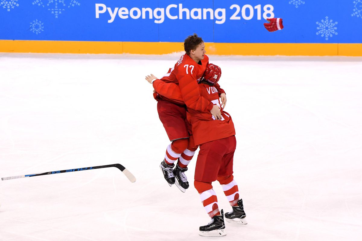 Olympic Hockey 2018 Schedule Scores And Results For The Men S