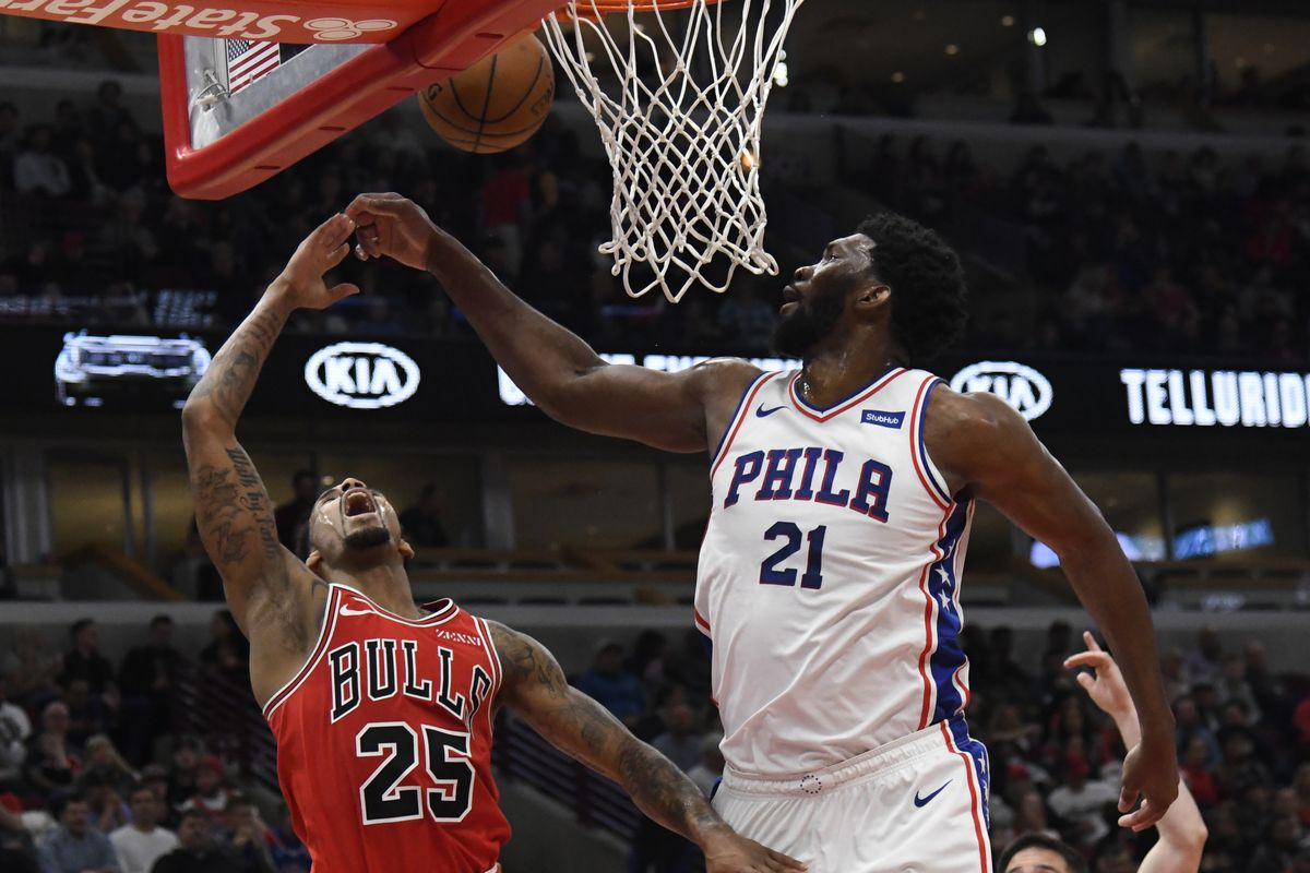 The Bulls, instead of standing pat, should consider making a run for the Sixers' Joel Embiid.