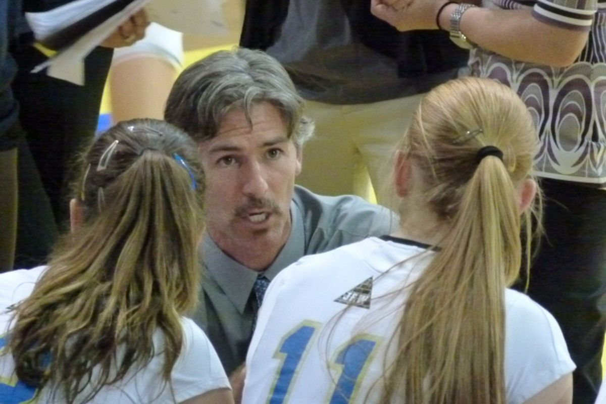 UCLA Women's Volleyball Coach, Mike Sealy