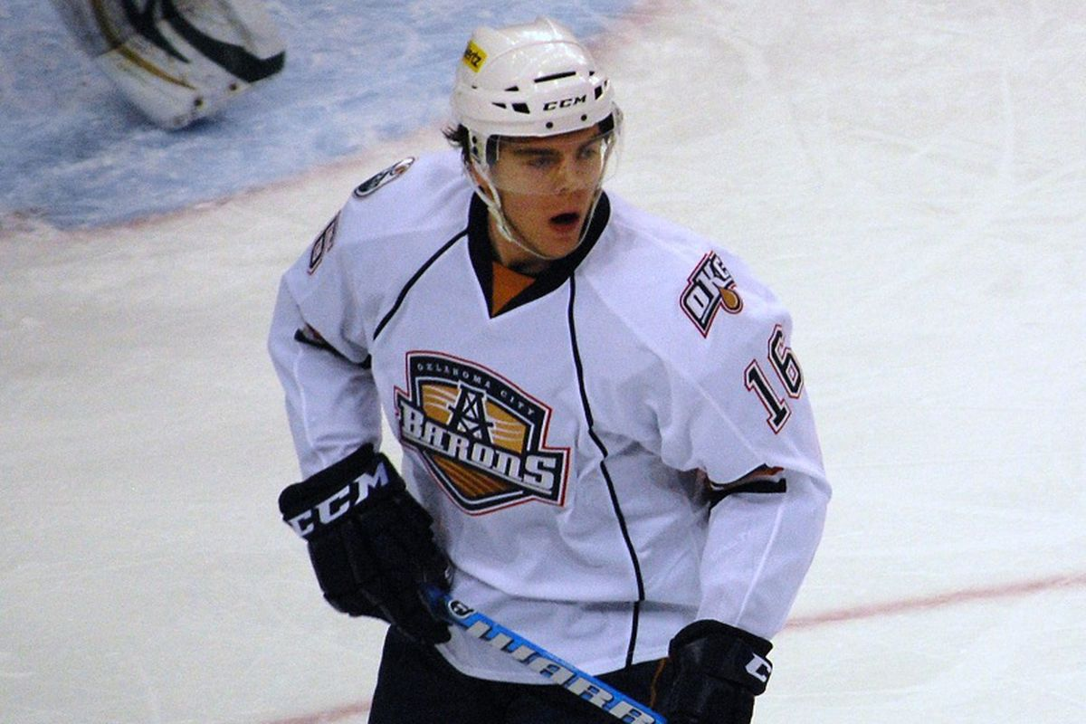 Welcome to OKC, Magnus Paajarvi (Photo Copyright Kathleen Rodgers, All Rights Reserved)
