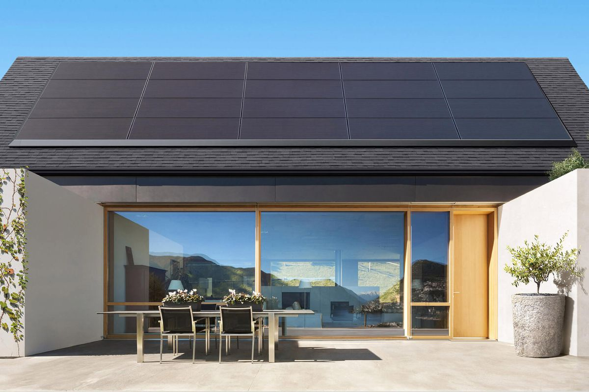 Tesla launches a rental plan to help its slumping home solar ... on house plans with slab on grade, house plans with parapet, modern house with shed roof, house plans with cupola, house plans with hvac, house plans with stucco, house detached garage with apartment, house plans modern shed, house plans with shingles, house plans with siding, house plans with foundation, house plans build your own, house plans with deck, house plans with masonry, house plans with brick, house plans with dormer, small house with hip roof,