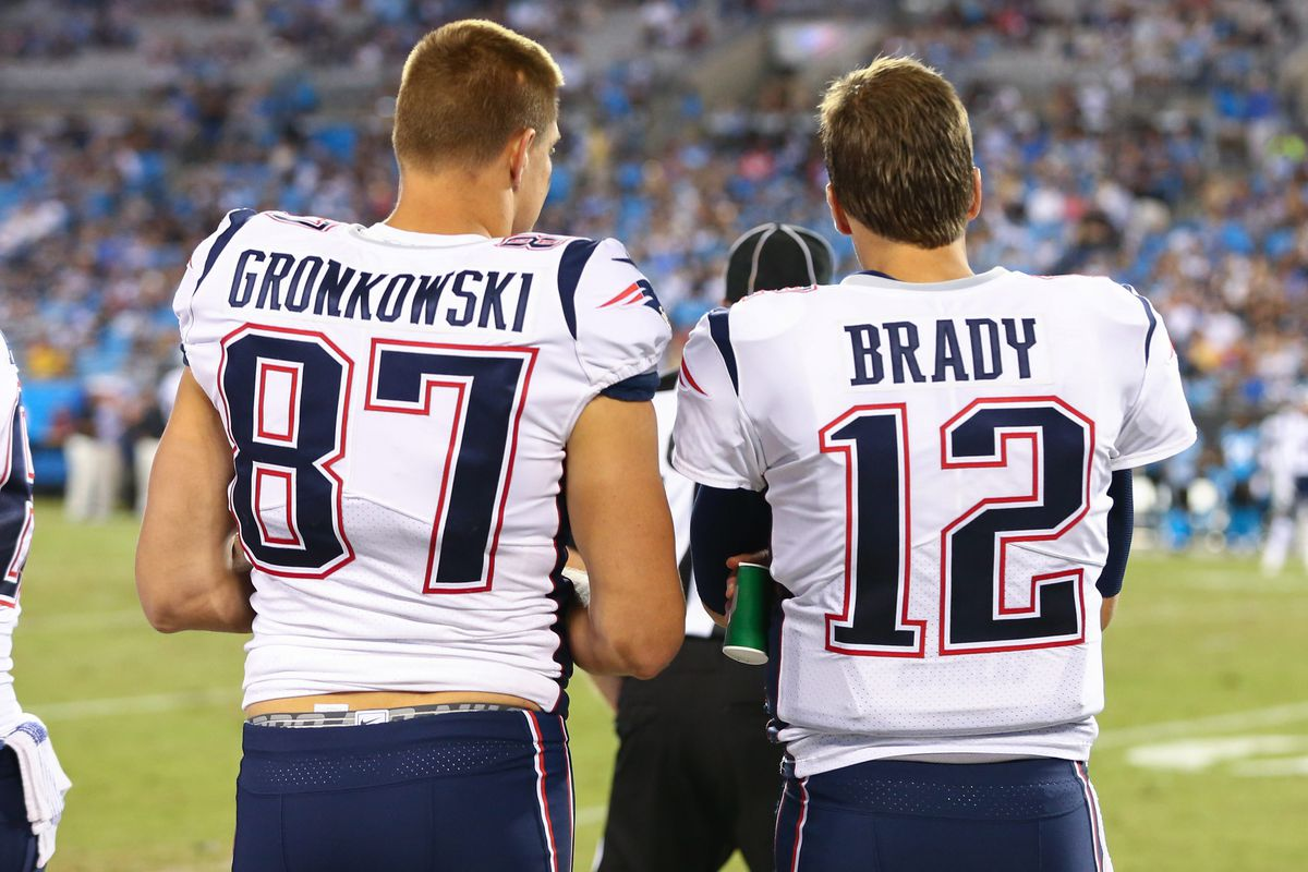 9e4b97242 Tom Brady, Rob Gronkowski added to Patriots injury report - Pats Pulpit