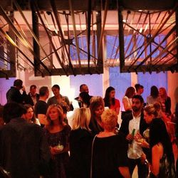 """""""Great opening tonight! Launch party for Tracy Anderson's Brentwood studio."""" - <a href=""""http://instagram.com/p/XtN0TnAGep/""""target=_blank"""">@200proof</a>"""