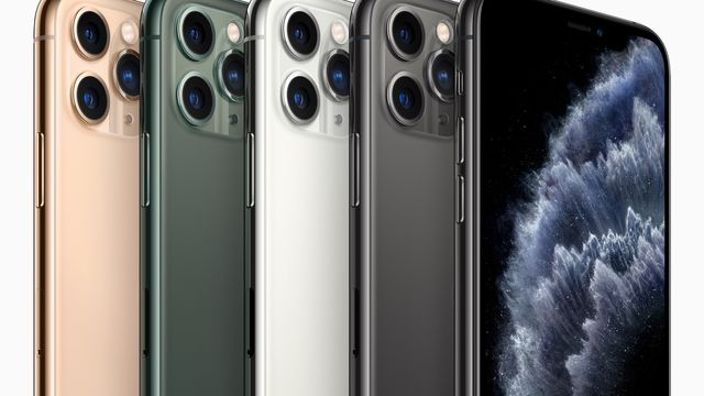 iPhone 11 Pro colors and cameras