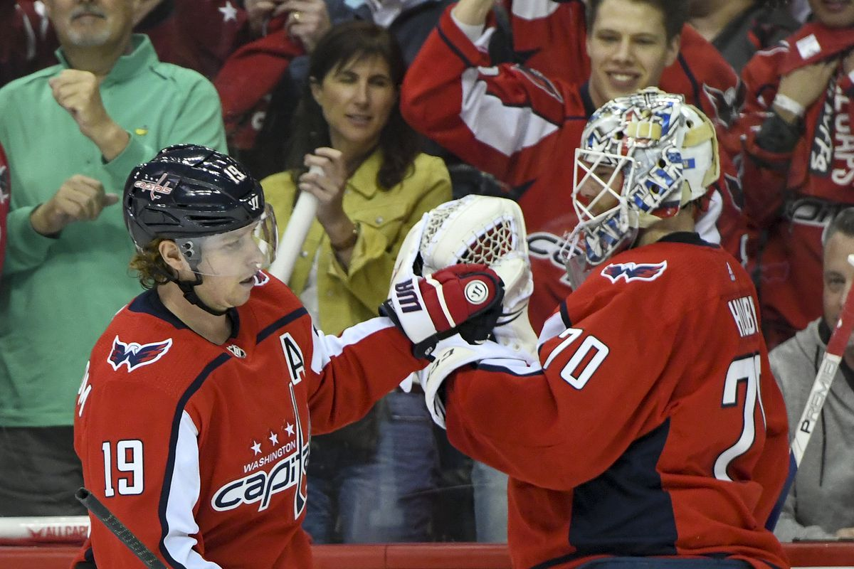 NHL: APR 11 Stanley Cup Playoffs First Round - Hurricanes at Capitals