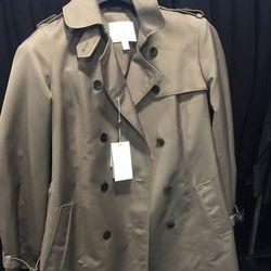 Women's trench coat, $350