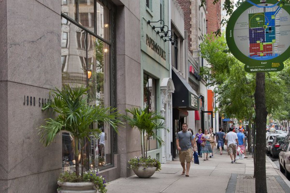 The landscape of Rittenhouse Row is changing. Image credit: R. Kennedy for GPTMC