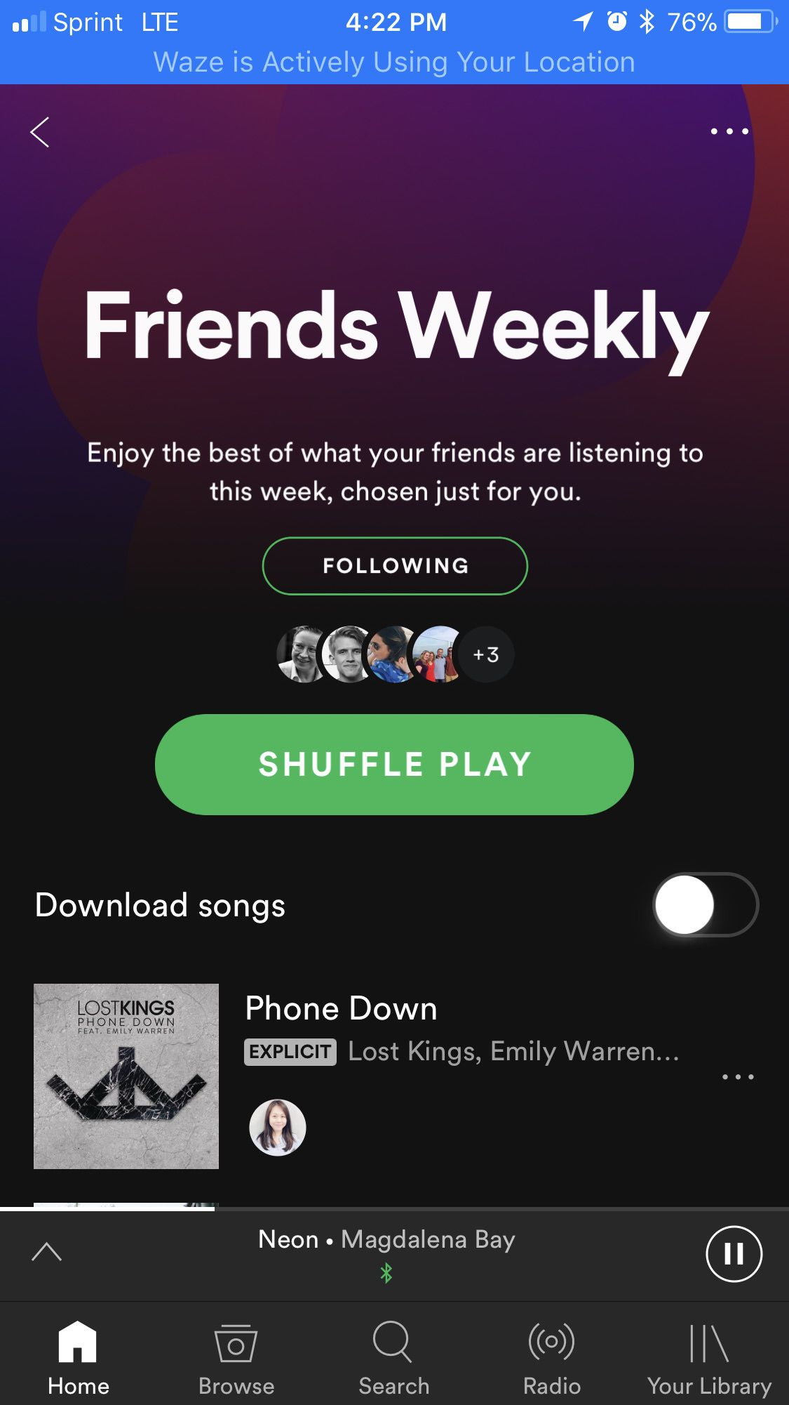 can you download songs from spotify