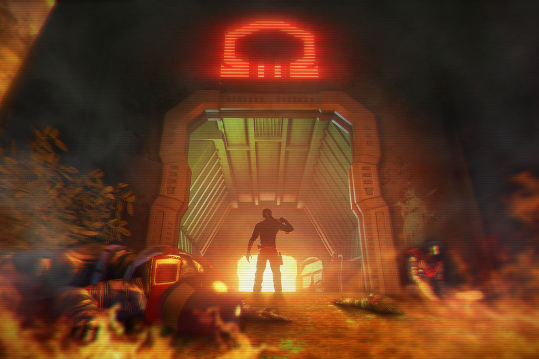 Far Cry 3 Blood Dragon Is An Acid Trip On The Back Of A Neon T