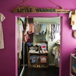 The Little Warrior shop-in-shop at Filth Mart.
