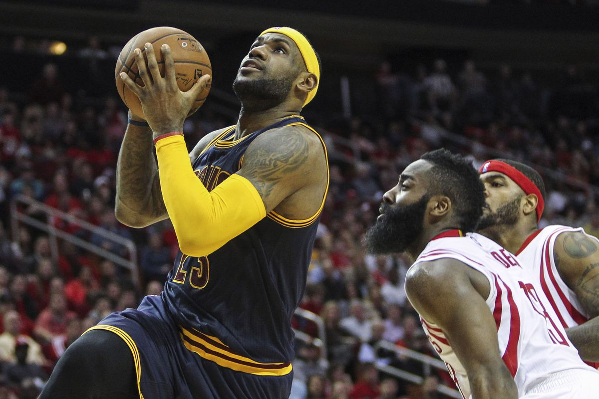 42ac082ec4d Final score  LeBron James misses clutch free throws as Houston Rockets beat  Cleveland Cavaliers in overtime
